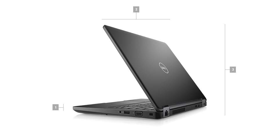 Latitude 5491 Laptop - Dimensions & Weight