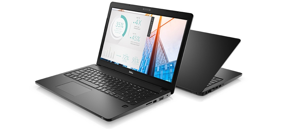 Latitude 15 3580 Laptop - Work securely, anywhere