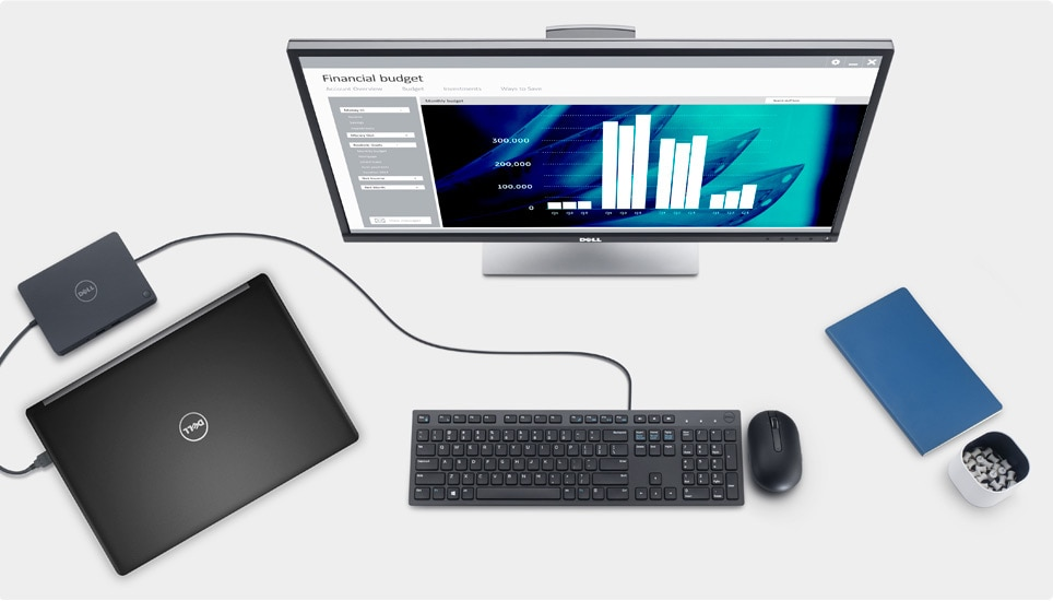 Latitude 5580 - Unlock ultimate productivity at your desk
