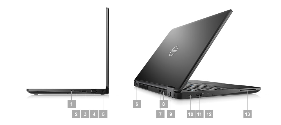 Latitude 5591 Laptop - Ports & Slots