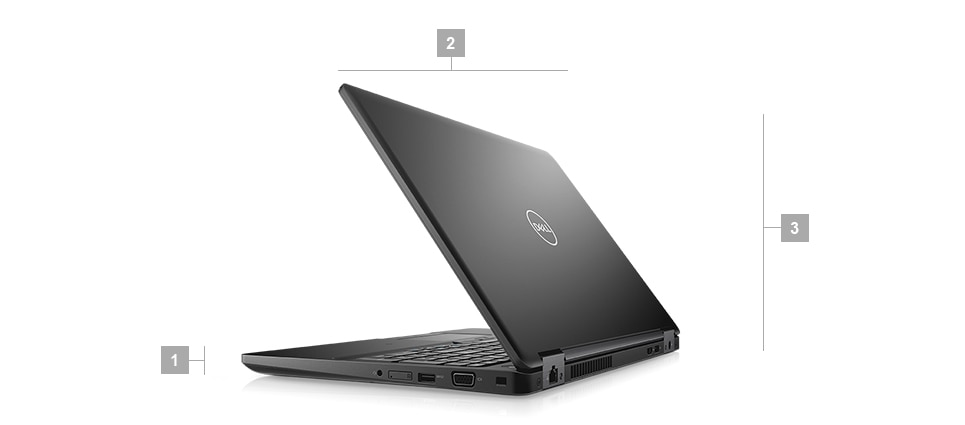 Latitude 5591 Laptop - Dimensions & Weight