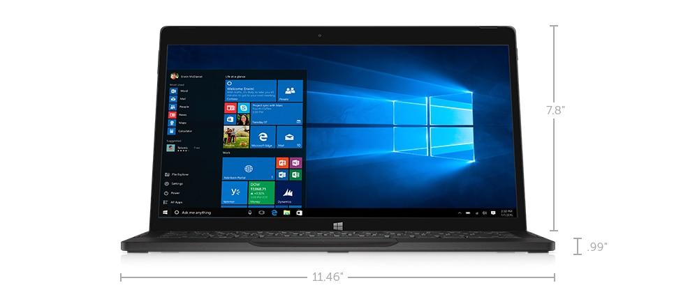 latitude-7275-laptop – Dimensões e peso