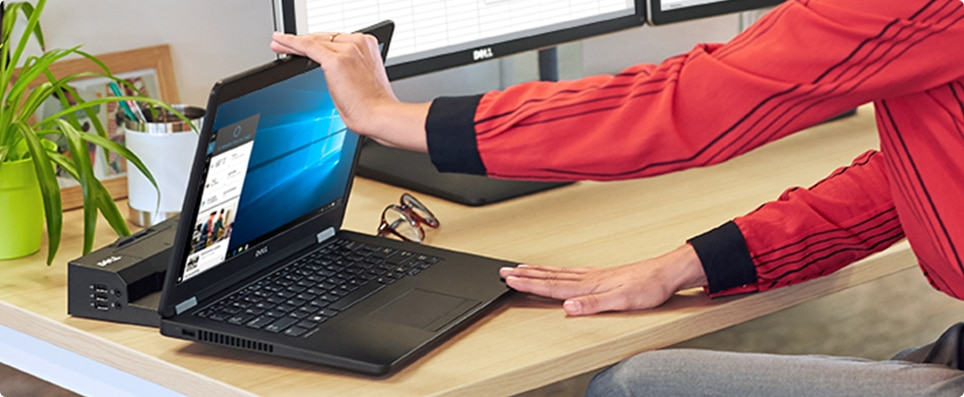 New Latitude 12 7000 Series Ultrabook™ - At your desk. At your best.