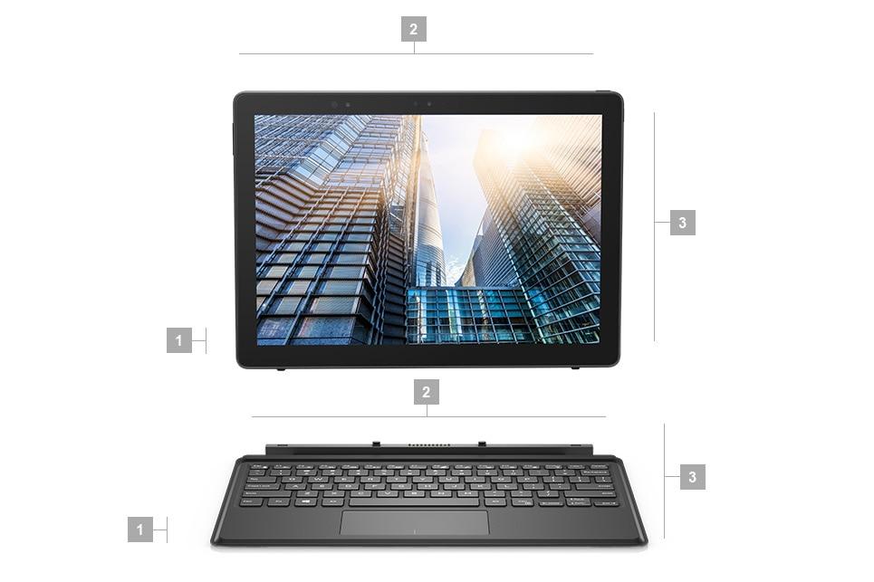 Notebook 2v1 Latitude 5290 – rozměry ahmotnost