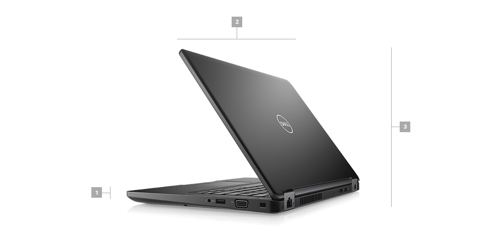 Latitude 5495 Laptop - Dimensions & Weight