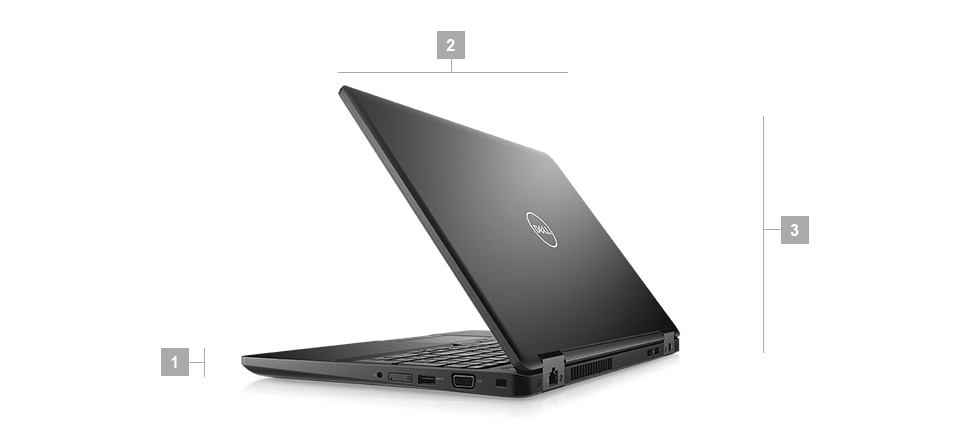 Latitude 5590 laptop - Dimensions  Weight