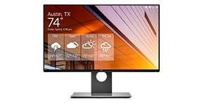 Notebook 2 v 1 Latitude 13 7390 – monitor Dell UltraSharp 24 | U2417H