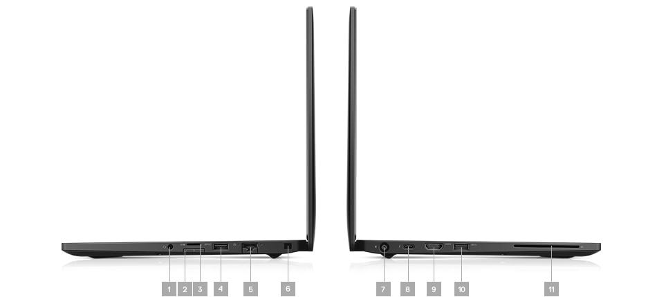 Latitude 7390 laptop - Ports & Slots