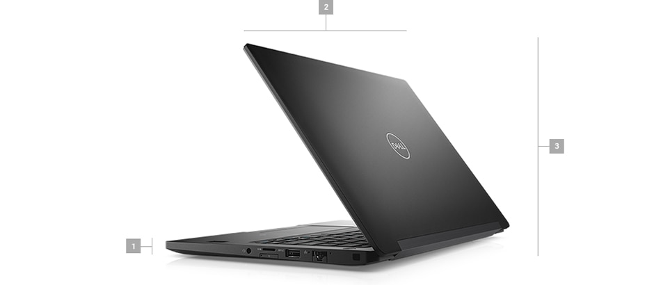 Latitude 7390 laptop - Dimensions & Weight
