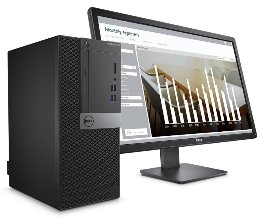 Desktop optiplex 3040 - produtividade elevada num PC pequeno