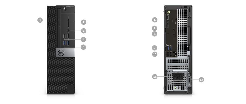 Desktop optiplex 3040 - OptiPlex Série 3040 de dimensões reduzidas