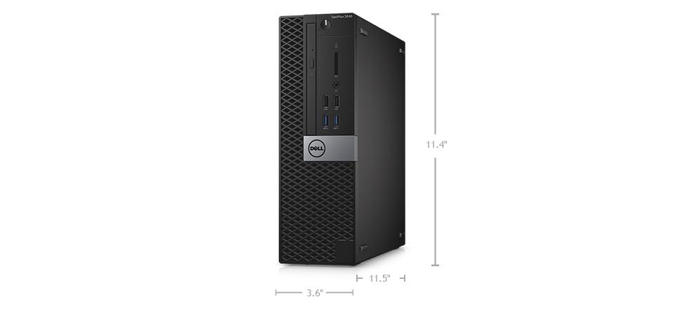 Desktop optiplex 3040 - dimensões e peso