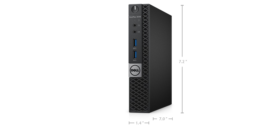 optiplex 3040m desktop - Dimensions and weight