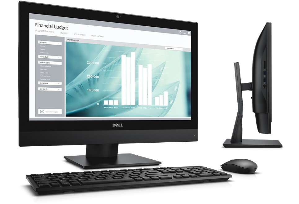 optiplex 3240 aio-essential performance in one, simple package