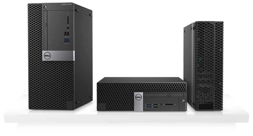 OptiPlex 5050 Tower and Small Form Factor - A conveniently compact, innovative design