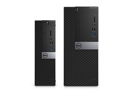 OptiPlex 5050 au format tour et au format compact : une puissante performance. Solutions intelligentes.