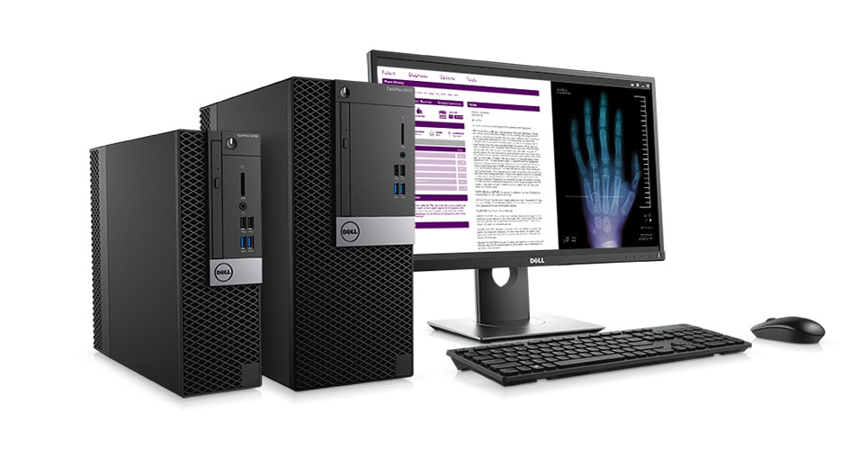 OptiPlex 5050 Tower and Small Form Factor - Trusted reliability. Serious security.