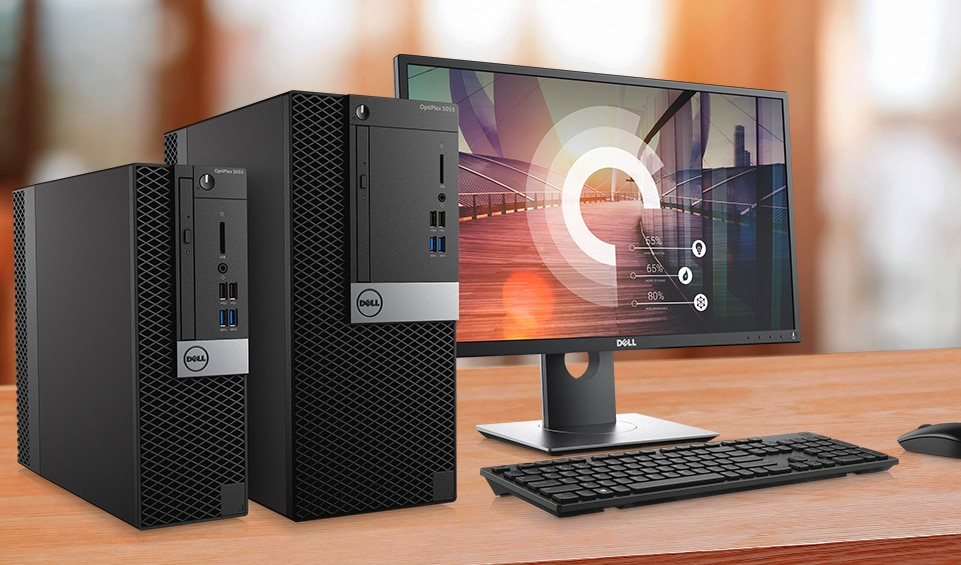 Optiplex 5055 Desktop - Powerful performance. Smart solutions.