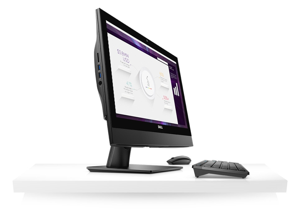 OptiPlex 5250 All-in-One - Enhance your productivity