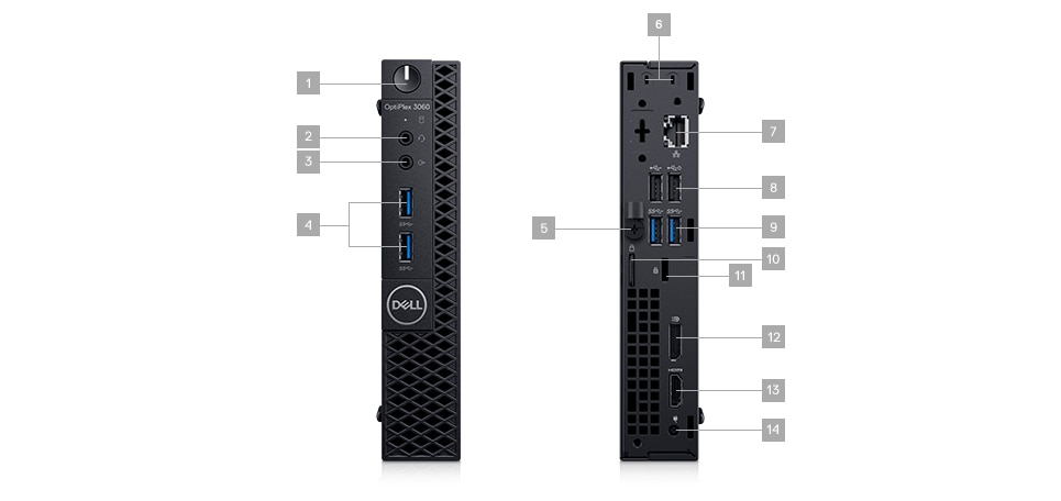 OptiPlex 3060 Micro Form Factor | Dell Thailand