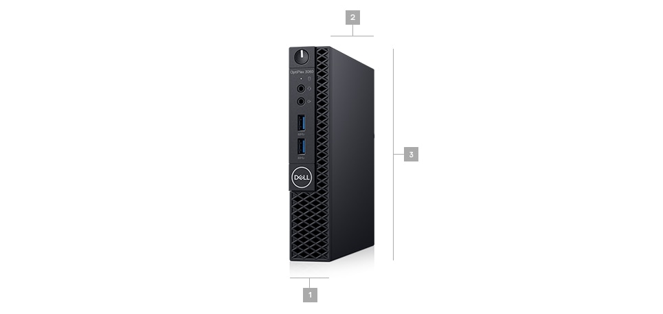 Optiplex 3060 micro - Dimensions & Weight