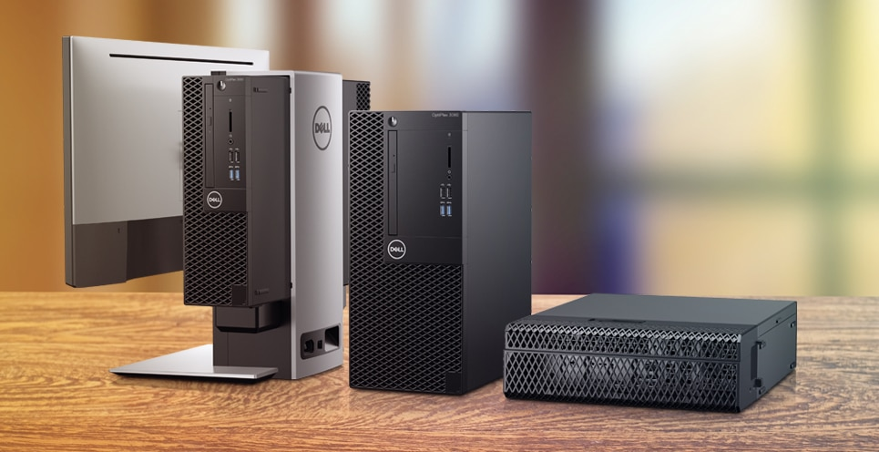 Optiplex 3060 desktop - Desktop-ul reimagined