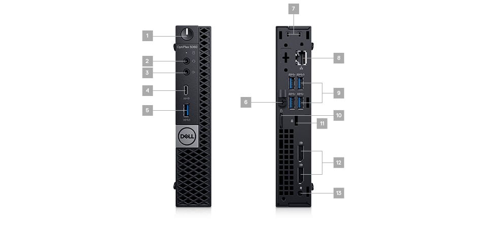 OptiPlex 5060 Micro Form Factor | Dell Middle East