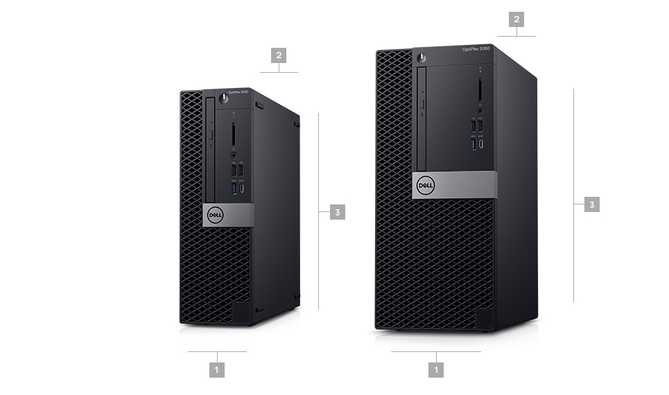 OptiPlex 5060 desktop - Dimensions & Weight