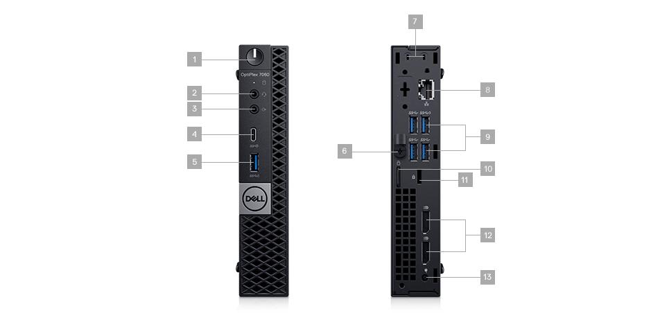 OptiPlex 7060 Micro Form Factor Desktop PC | Dell USA