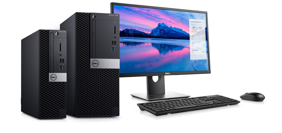 Optiplex 7060 desktop - Unleash your productivity