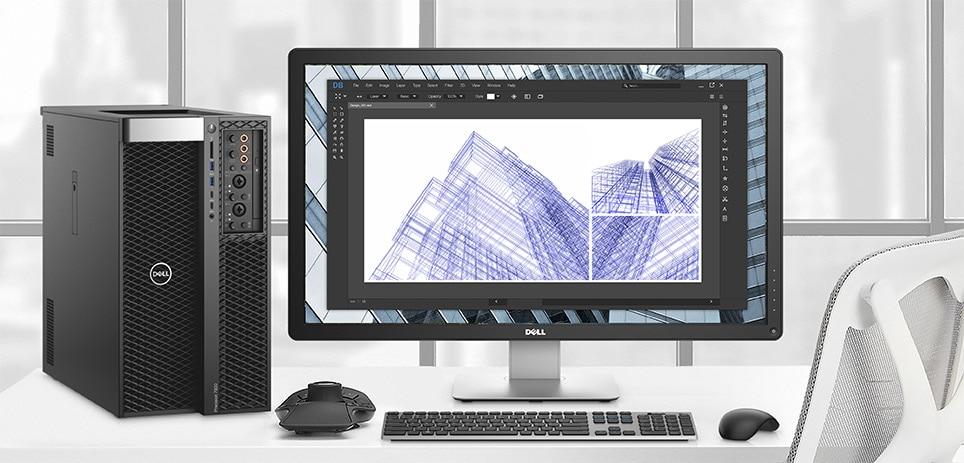 Precision 7920工作站 - 让您挥洒无限创意。