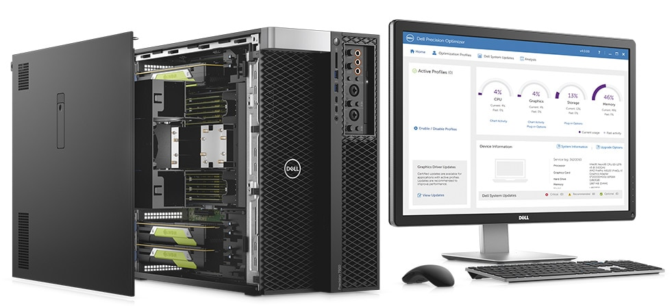 Station de travail Dell Precision 7920 - Performances optimales
