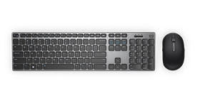 Precision 7920 Rack - Dell Wireless Premium Keyboard & Mouse Combo | KM717