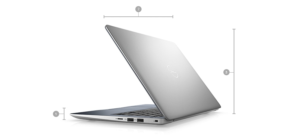 Vostro 13 5370 Laptop - Dimensions & Weight