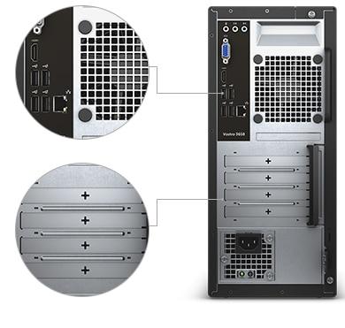 מחשב שולחני מסדרת Vostro - דרכים לשיפור הפרודוקטיביות