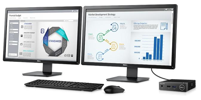 Cliente ligero Wyse 3040: rendimiento diseñado para su beneficio.