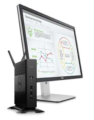 Wyse 5000 Series Thin Clients - Complete VDI protection.