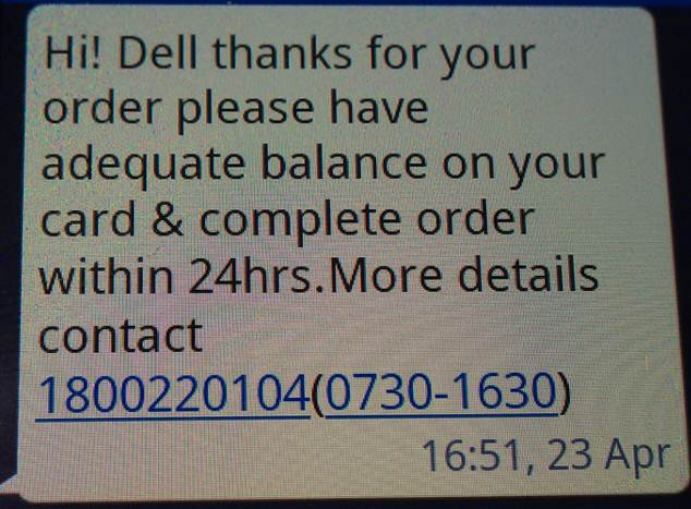 New Free SMS Payment Reminder Service | Dell Singapore