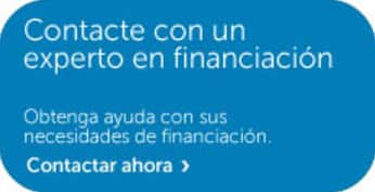 Contacte con un experto en financiacion Dell EMC