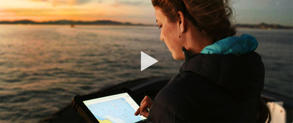 Video: Latitude 7212 Rugged Extreme tablet en Baydelta Maritime  0:00