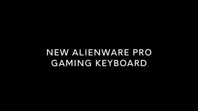Alienware Pro Gaming Keyboard 56