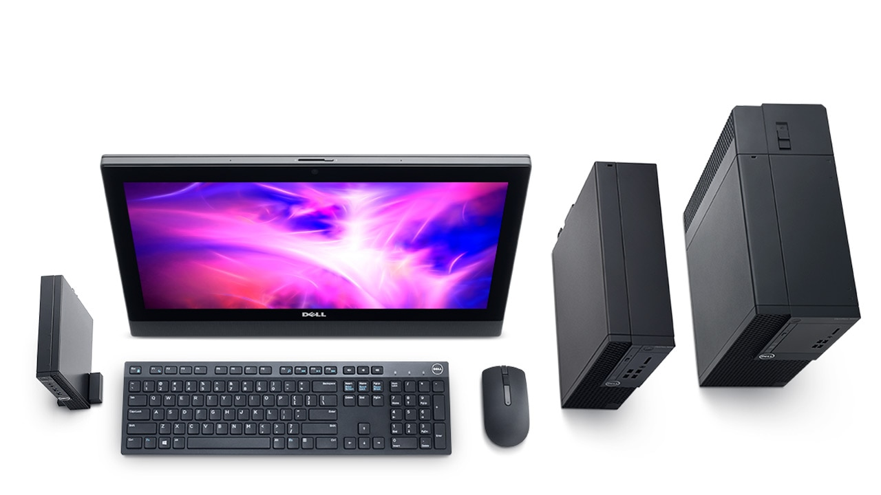 Meet the OptiPlex 3000 Series Desktops & All-in-Ones (2017)