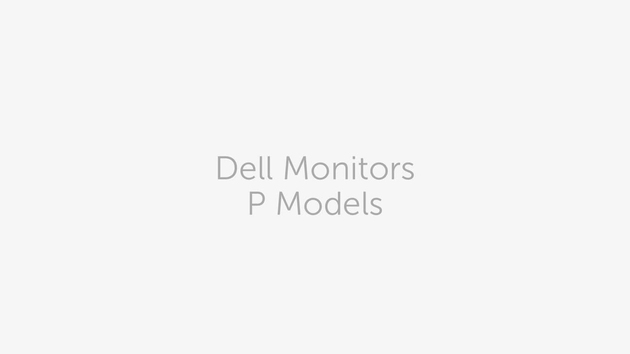 Dell P Monitor Family  81