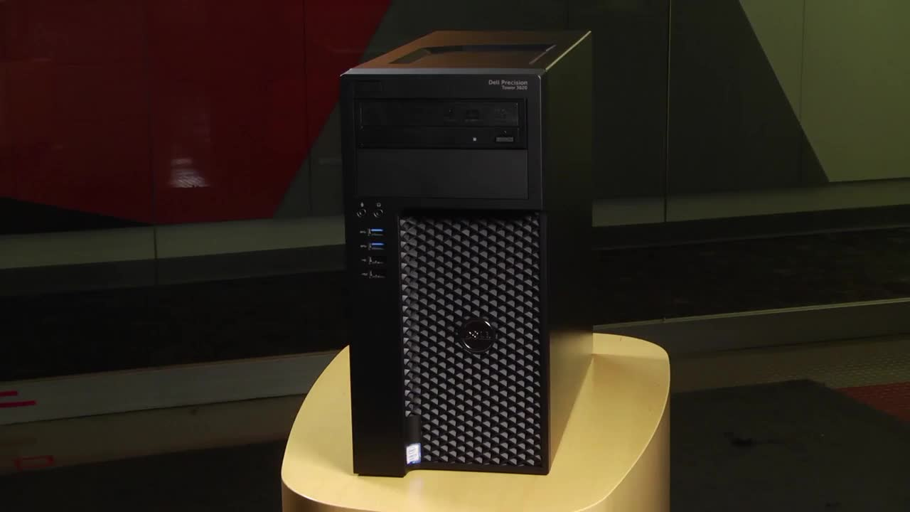 PCMag Video Review of the Dell Precision Tower 3620 45